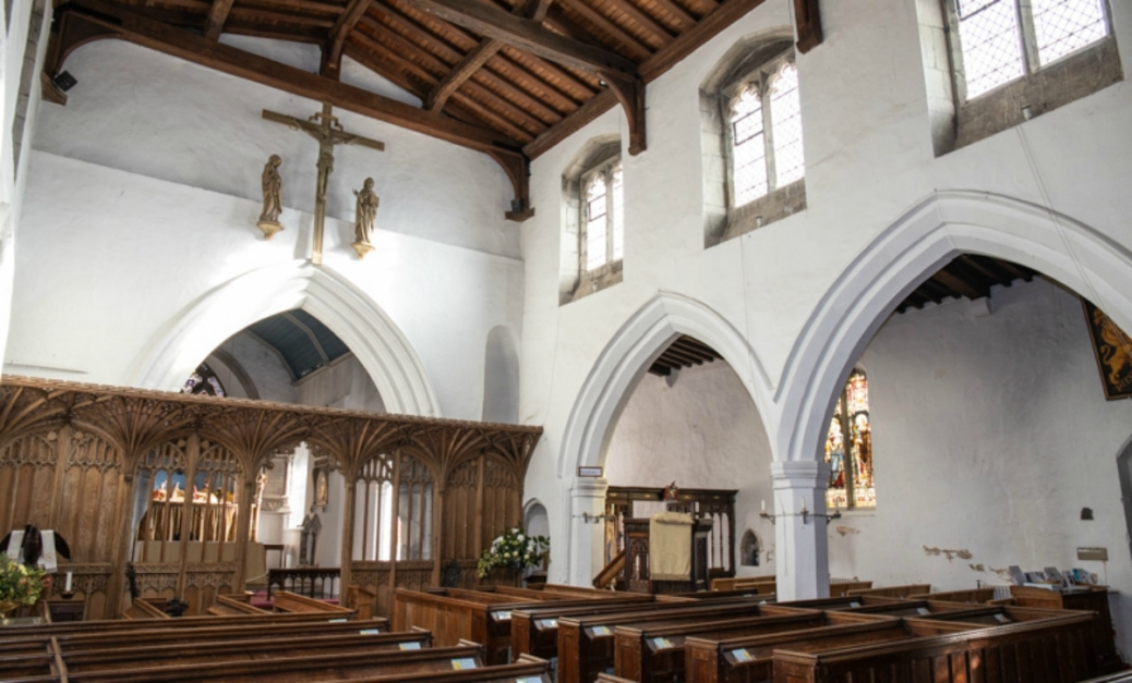 St Marys Redbourn Interior