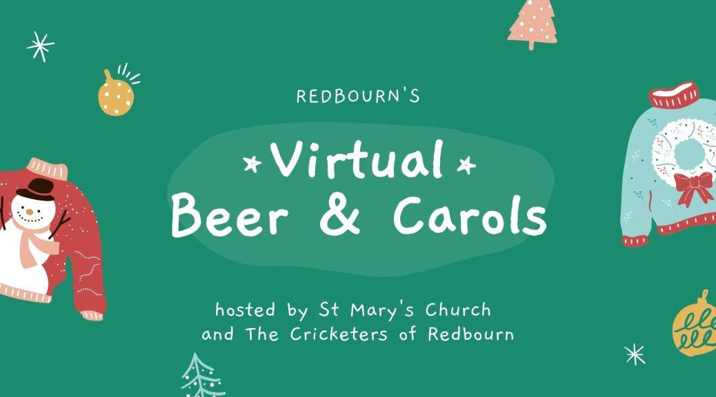 Virtual Beer & Carols